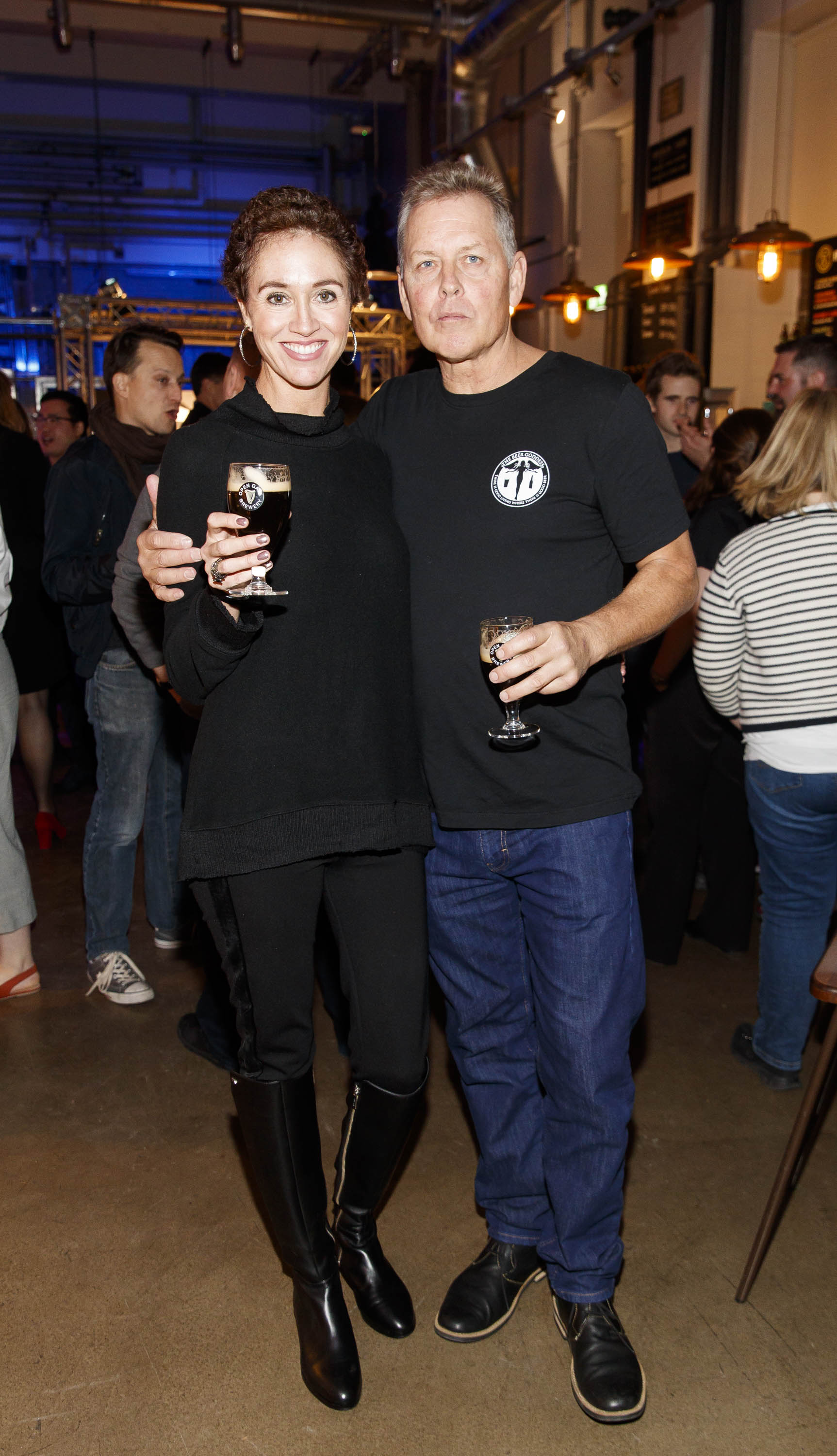 STOUT OF THIS WORLD The Beer Goddess Erin Peters and Mark Valance pictured on International Stout Day as Guinness celebrated innovation in brewing with a future of stout summit.    Guinness together with guest brewers and a host of experts from around the world, celebrated bravery in brewing by hosting a Future of Stout Summit, focused on stout innovation and the opportunities in brewing this unique style of beer.   At the summit, Guinness announced that its brewers are set to work on a feasibility study, which will investigate the viability of brewing a Guinness fit to be enjoyed in space. Through further research, innovation and experimentation, Guinness will draw on over 259 years of experience in the hope of making a breakthrough.     Hosted in the Open Gate Brewery, the home of beer innovation and experimentation at Guinness, the stout summit was attended by a team of brewers from the St. James's Gate Brewery in Dublin and other brewers from around the world including the UK, the Netherlands, Korea as well as brewers from all over Ireland. Inspiration at the summit was also delivered by Dr. Norah Patten, who is set to be the first Irish person to travel into space, Kitchen's Theory's Chef, Jozef Youssef and Oxford University Gastrophysics Professor, Charles Spence, who together are on a continuous odyssey to research and demystify the field of gastronomy, and Erin Peters, the beer writer behind International Stout Day. Picture Andres Poveda More information can be found at www.guinness.com   Enjoy Guinness Sensibly. Visit www.drinkaware.ie.