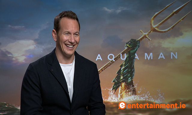Patrick Wilson talks Aquaman, James Wan, CGI, and critiques
