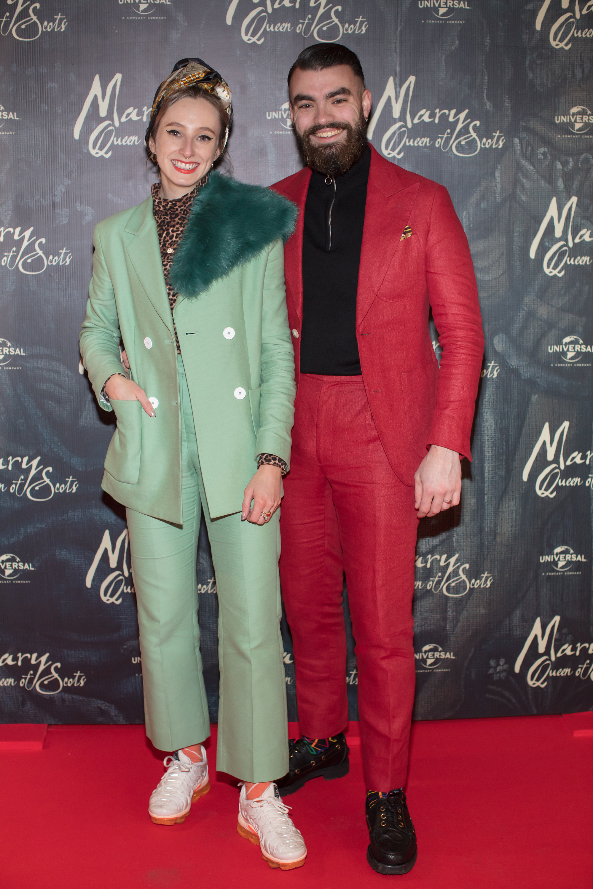 Niamh  O'Donoghue & Jake McCabe pictured at an exclusive first look of Mary, Queen of Scots at The Stella Theatre, Ranelagh before it hits cinemas nationwide on January 18th.   Photo: Anthony Woods