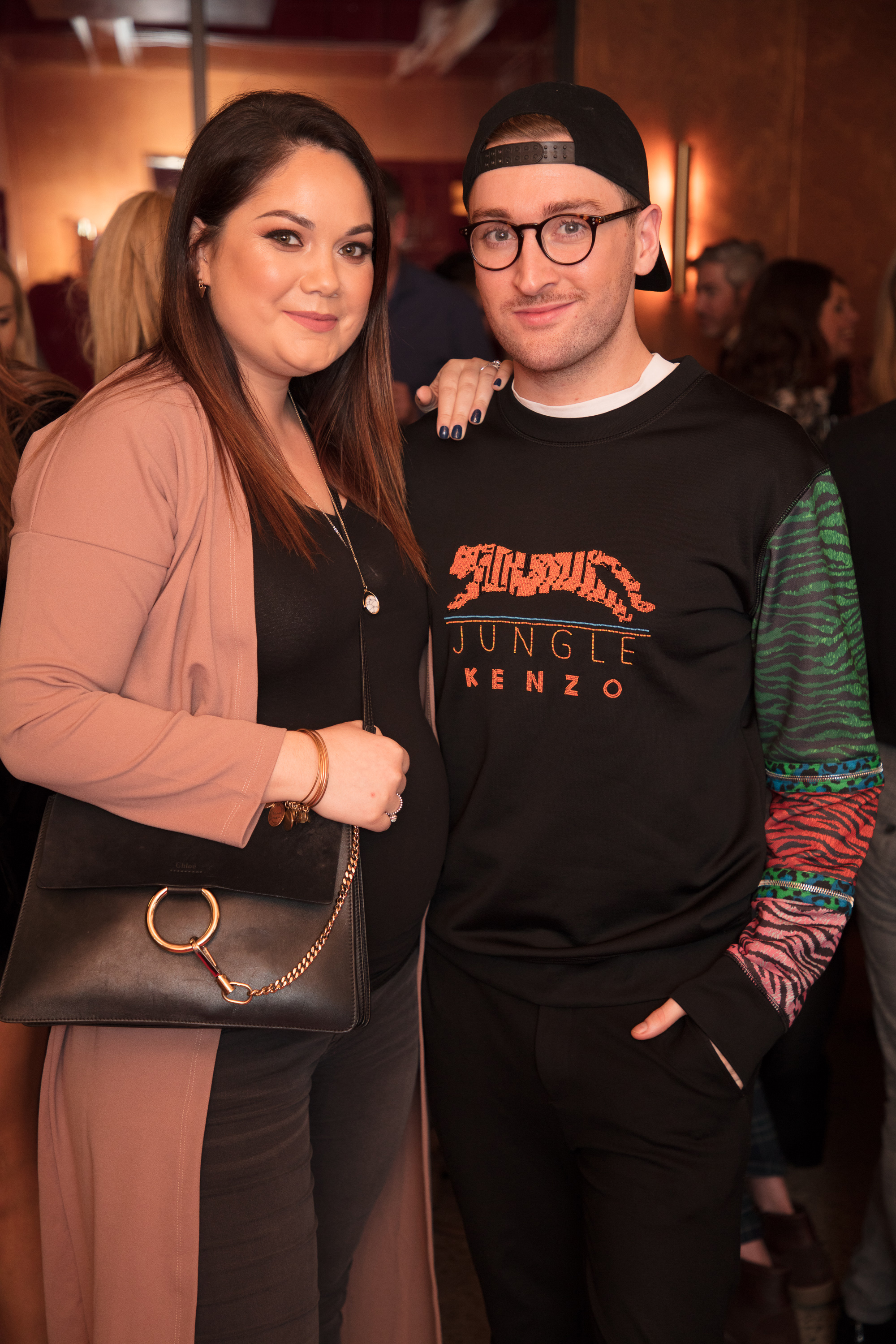 Grace Mongey & Rob Kenny pictured at an exclusive first look of Mary, Queen of Scots at The Stella Theatre, Ranelagh before it hits cinemas nationwide on January 18th.  Photo: Anthony Woods