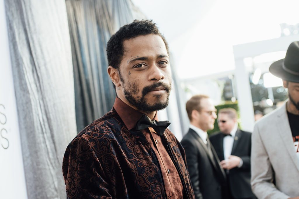 LOS ANGELES, CALIFORNIA - JANUARY 27:  (EDITORS NOTE: Image has been edited using a digital filter) Lakeith Stanfield arrives at the 25th annual Screen Actors Guild Awards at The Shrine Auditorium on January 27, 2019 in Los Angeles, California. (Photo by Emma McIntyre/Getty Images for Turner)