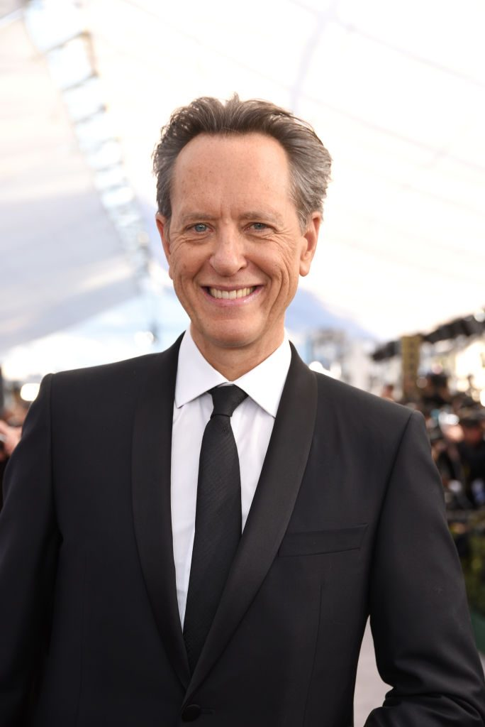 LOS ANGELES, CA - JANUARY 27:  Richard E Grant attends the 25th Annual Screen ActorsGuild Awards at The Shrine Auditorium on January 27, 2019 in Los Angeles, California.  (Photo by Presley Ann/Getty Images)