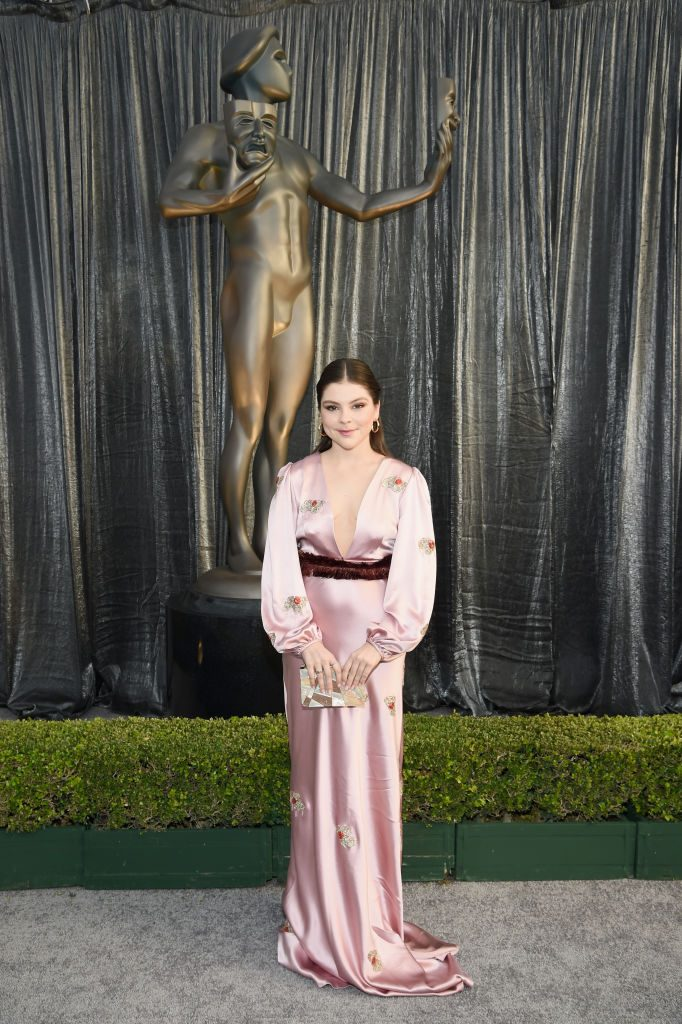 LOS ANGELES, CA - JANUARY 27:  Hannah Zeile attends the 25th Annual Screen ActorsGuild Awards at The Shrine Auditorium on January 27, 2019 in Los Angeles, California. 480595  (Photo by Dimitrios Kambouris/Getty Images for Turner)