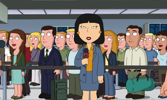 Tricia Takanawa Family Guy