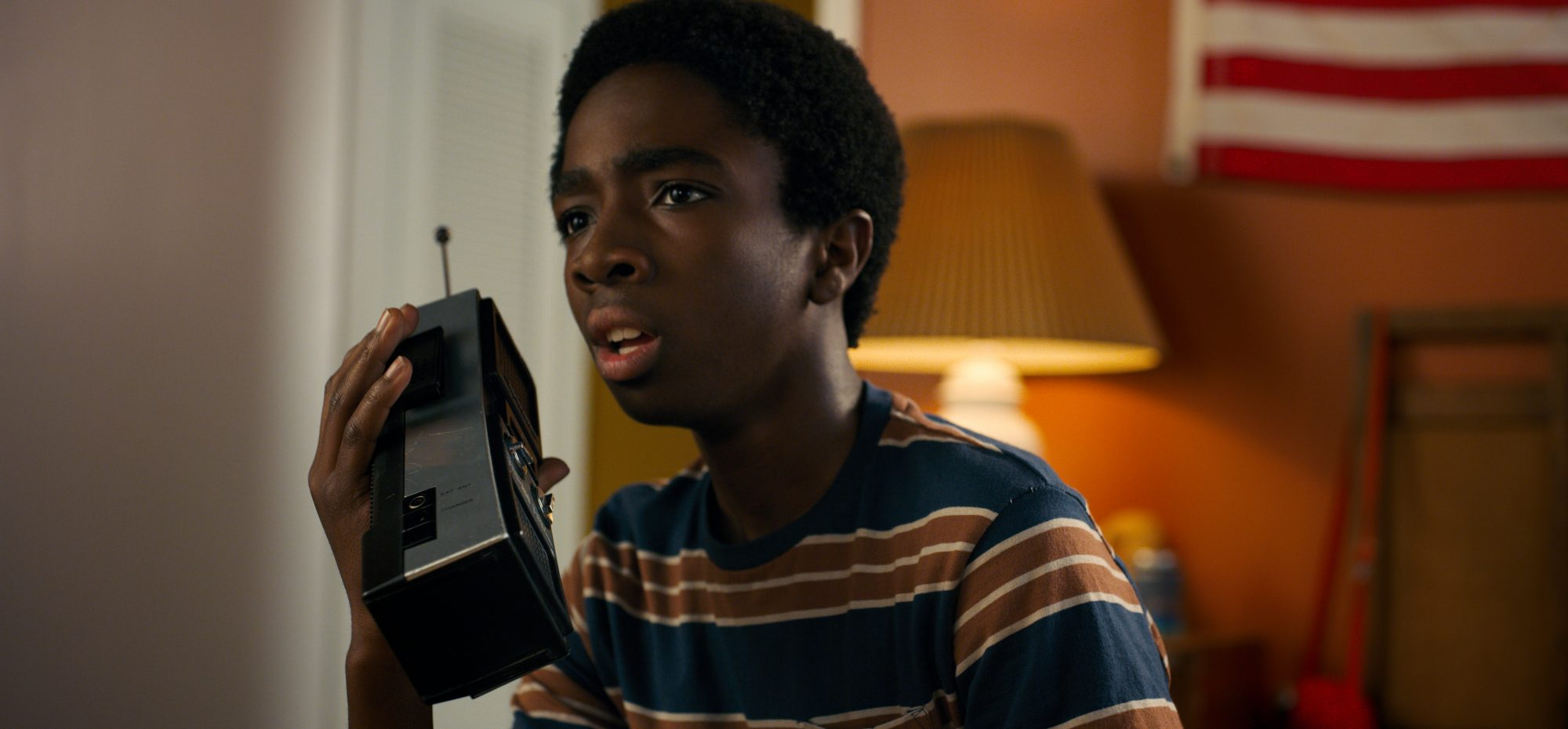 Caleb McLaughlin Stranger Things