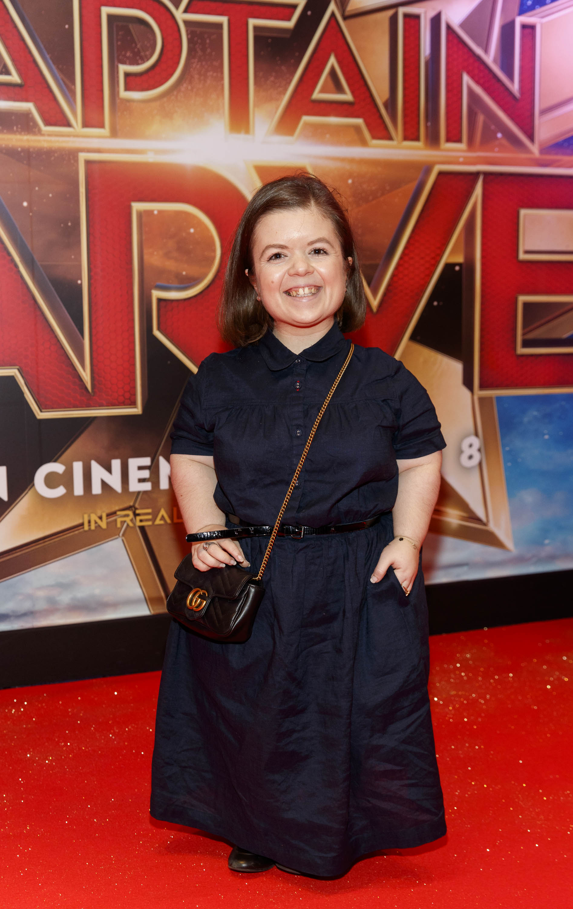 Sinead Burke pictured at a special preview screening of CAPTAIN MARVEL in Cineworld Dublin. Picture by: Andres Poveda