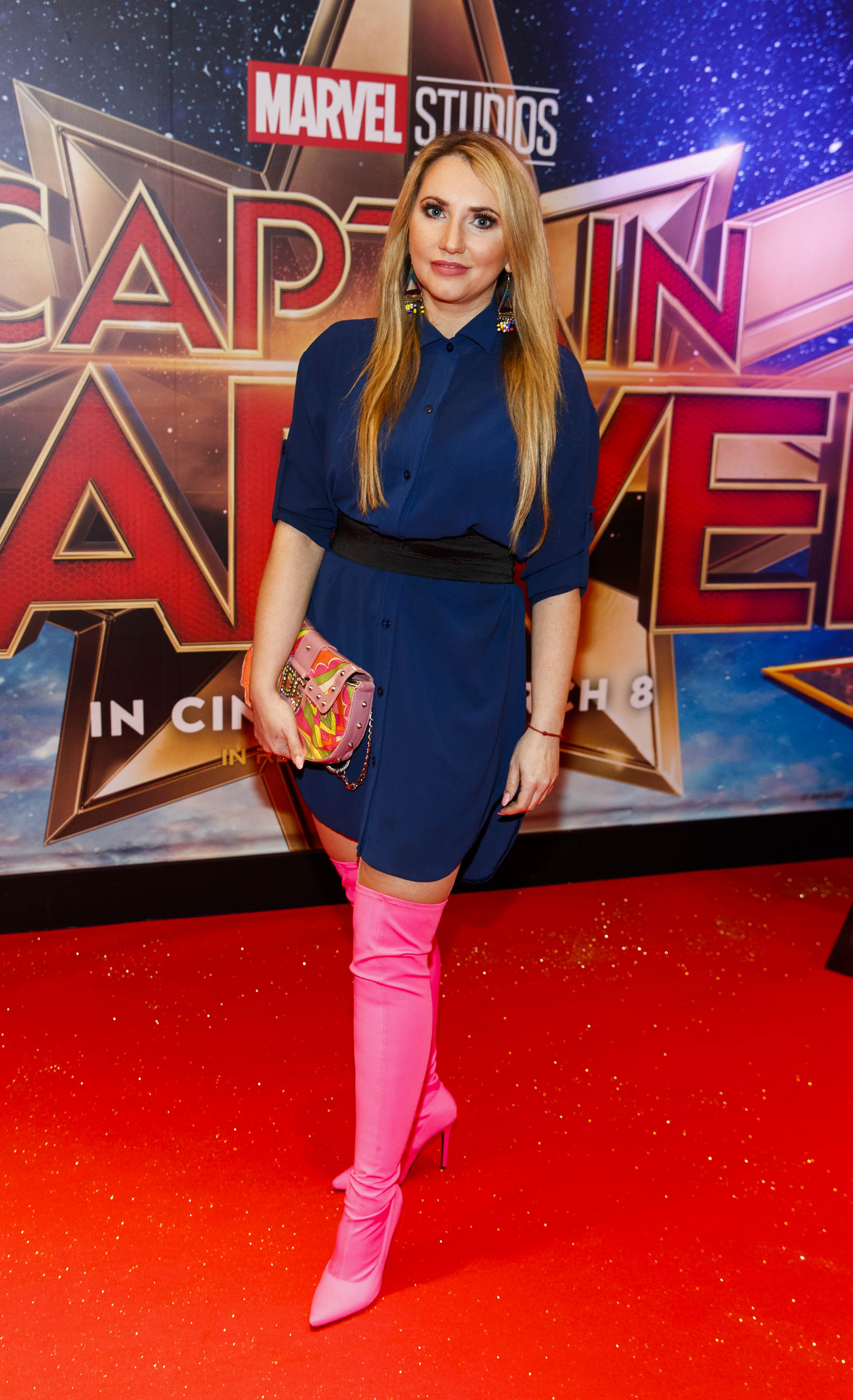 Monica Walsh pictured at a special preview screening of CAPTAIN MARVEL in Cineworld Dublin. Picture by: Andres Poveda