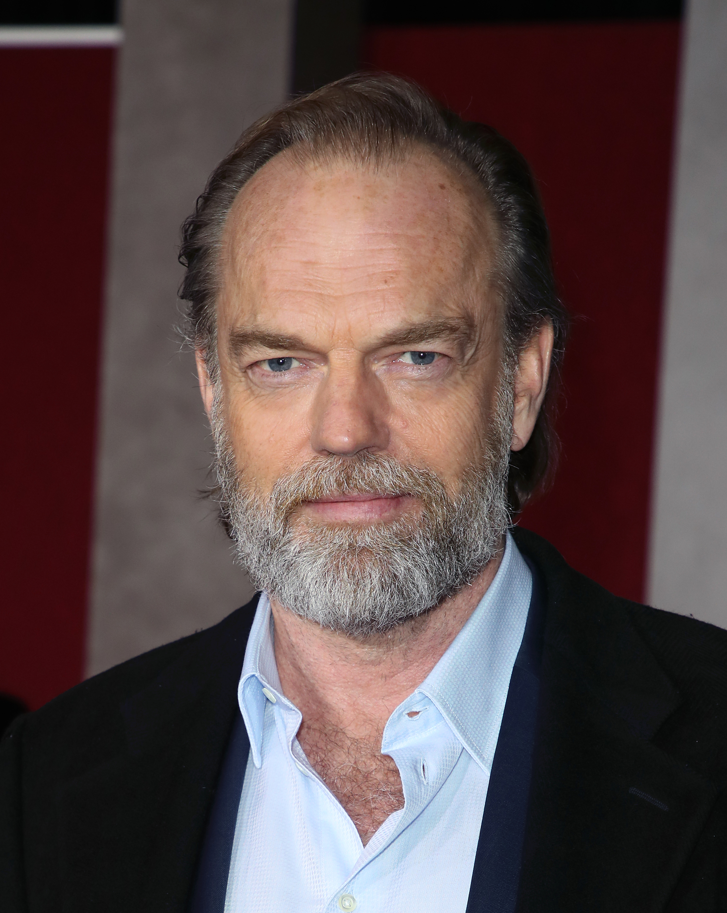 """Hugo Weaving attends the premiere of Universal Pictures' """"Mortal Engines"""" at the Regency Village Theatre on December 05, 2018 in Westwood, California. (Photo by David Livingston/Getty Images)"""