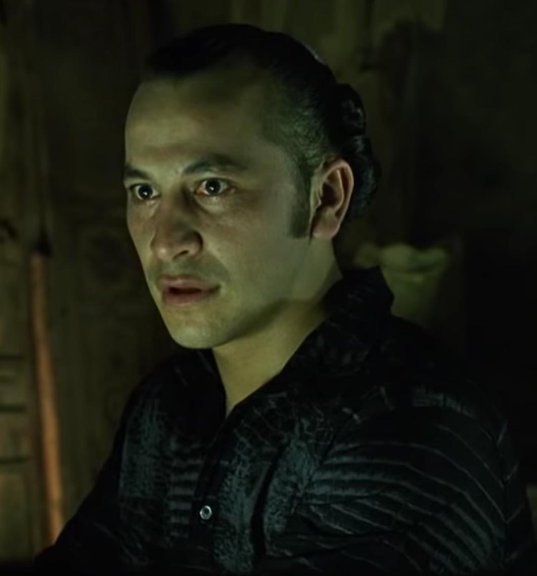 Julian Arahanga as Apoc in 'The Matrix'