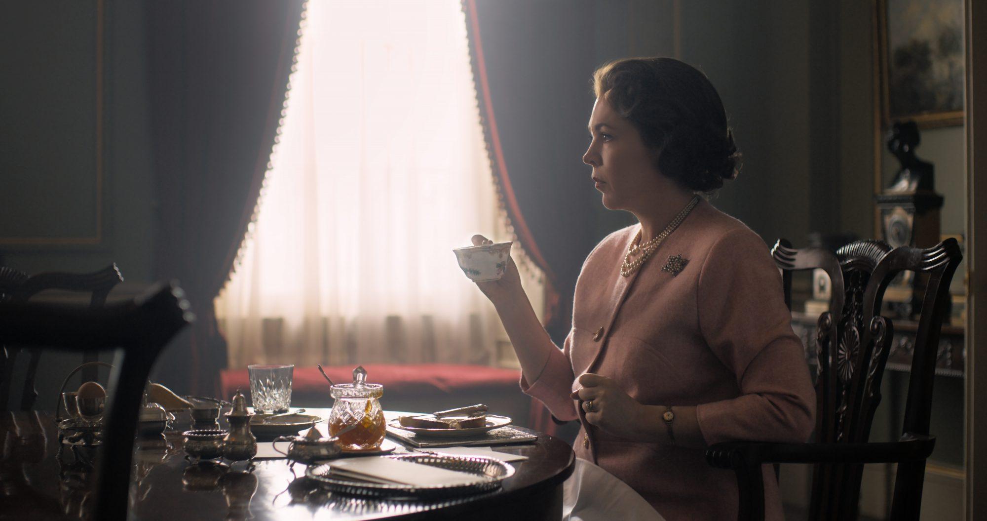 Olivia Colman as Queen Elizabeth II in 'The Crown'