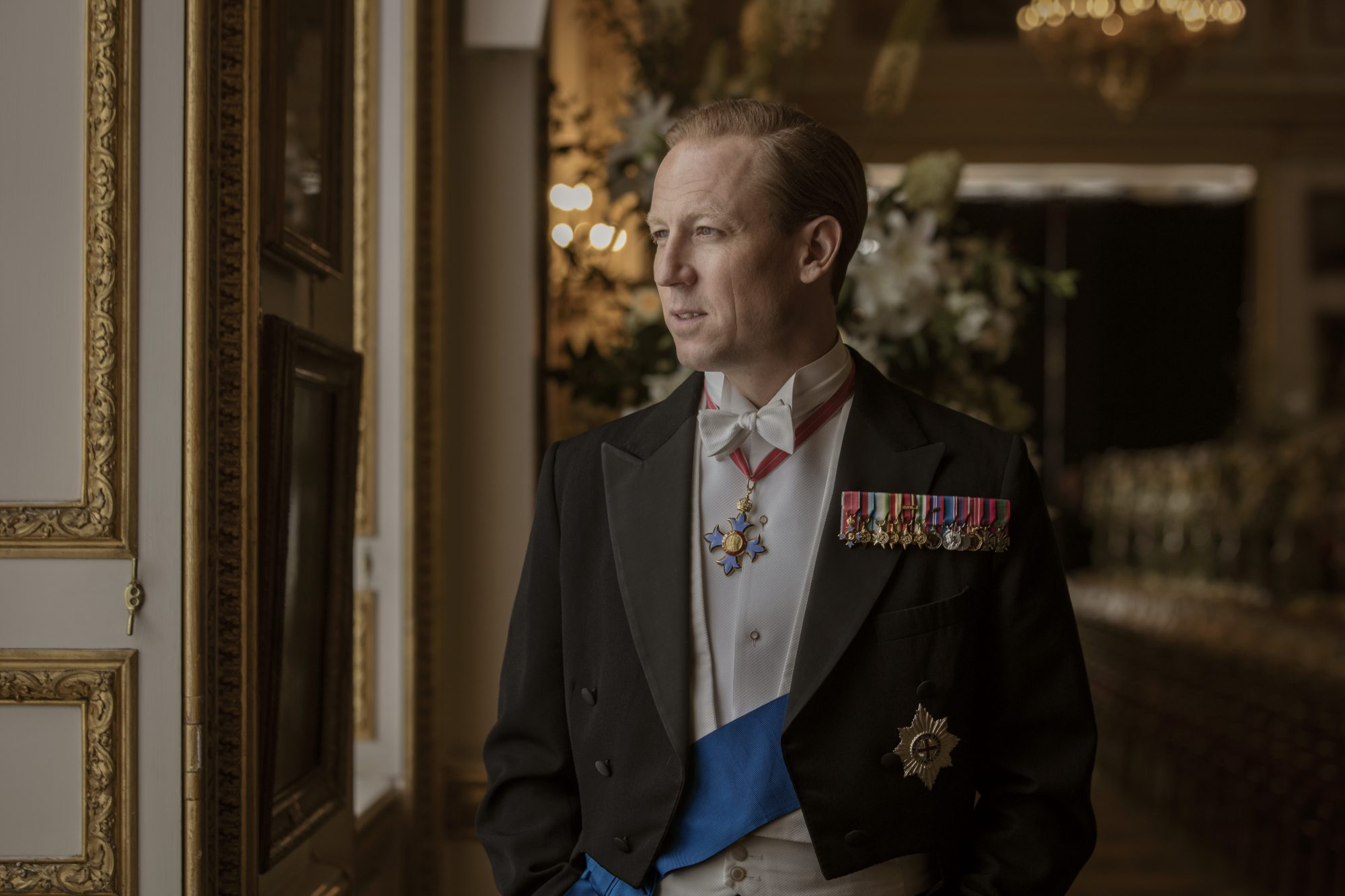 Tobias Menzies as Prince Philip in 'The Crown'