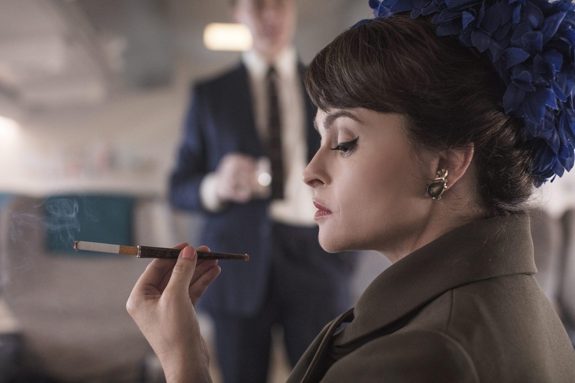 Helena Bonham Carter as Princess Margaret in 'The Crown'