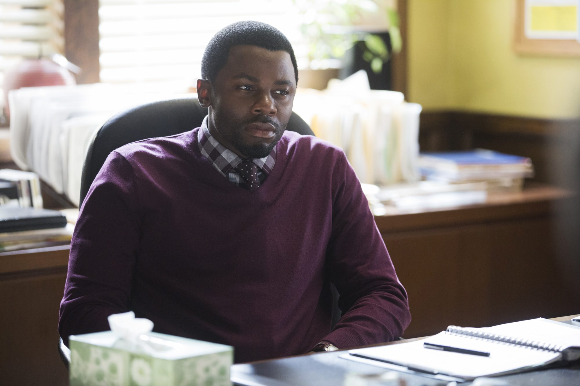 Derek Luke as Kevin Porter in 13 REASONS WHY