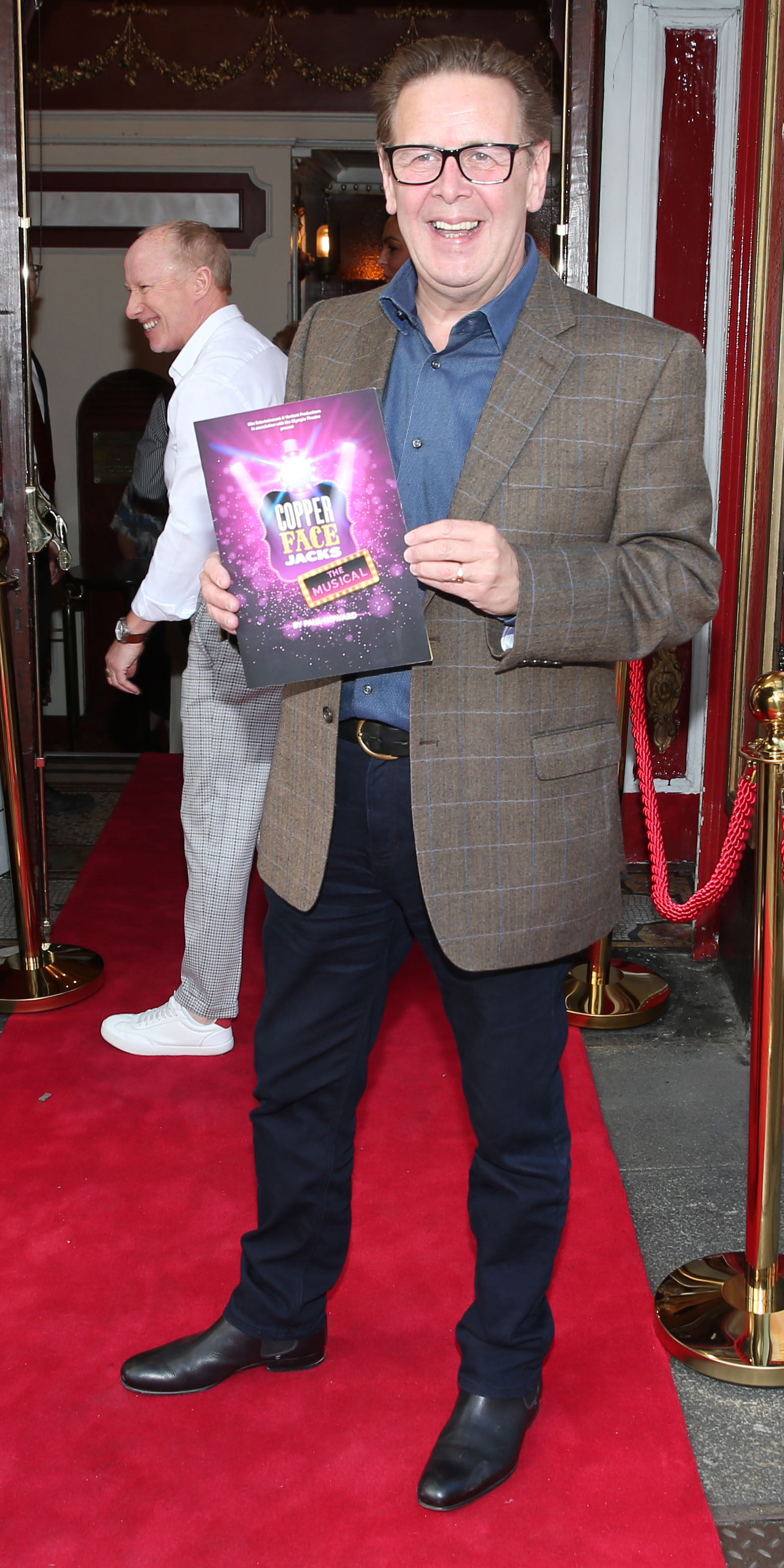 Ian Dempsey at the opening night of  Copper Face Jacks The Musical at  the Olympia Theatre which  runs until the 10th August.Photo: Leon Farrell/Photocall Ireland.