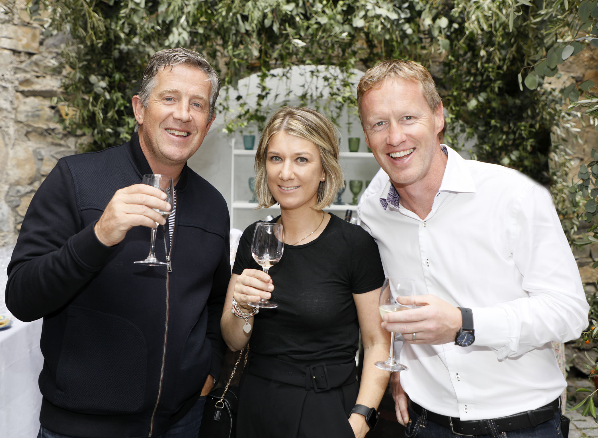 Diarmuid McHugh, Niamh Skally and John Bowler at the Centra 'Wines We Love' event in Dublin. Photo: Kieran Harnett