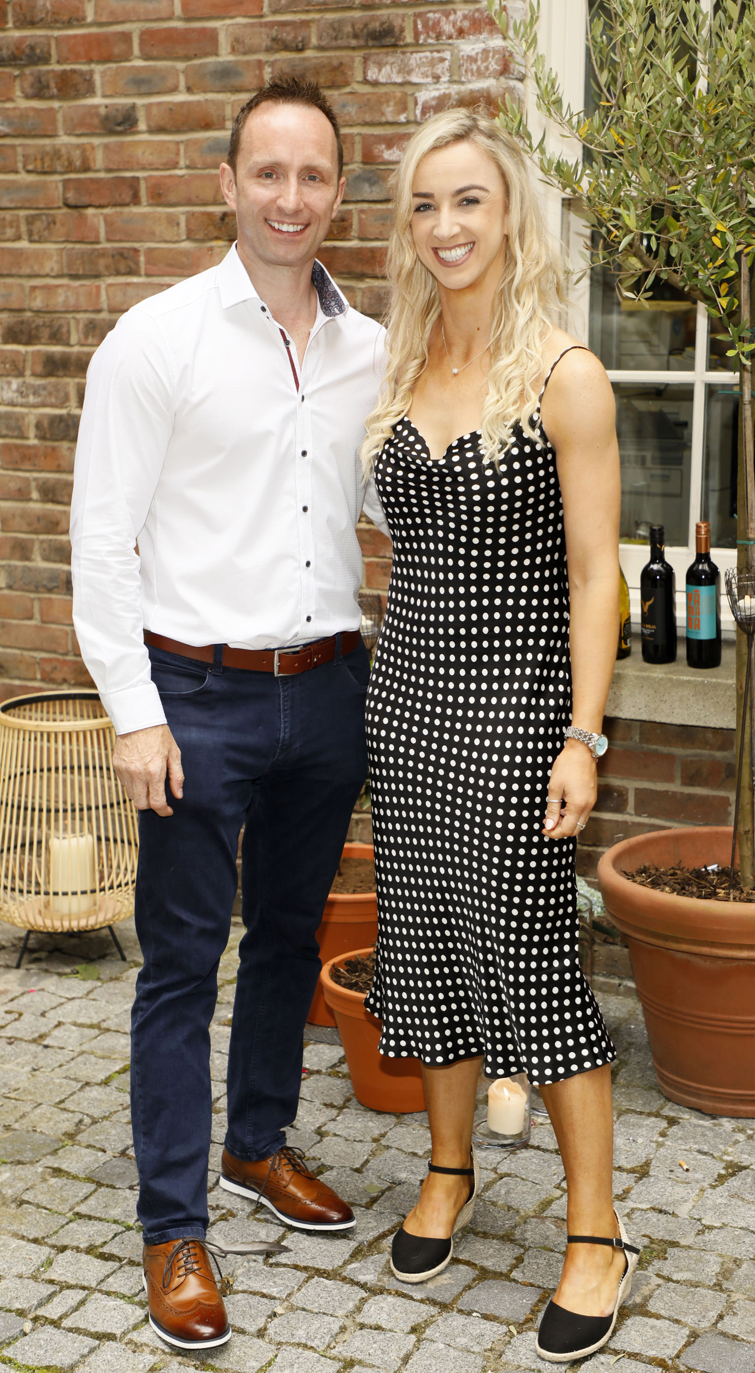 Kevin O'Callaghan and Karen O'Connor at the Centra 'Wines We Love' event in Dublin. Photo: Kieran Harnett