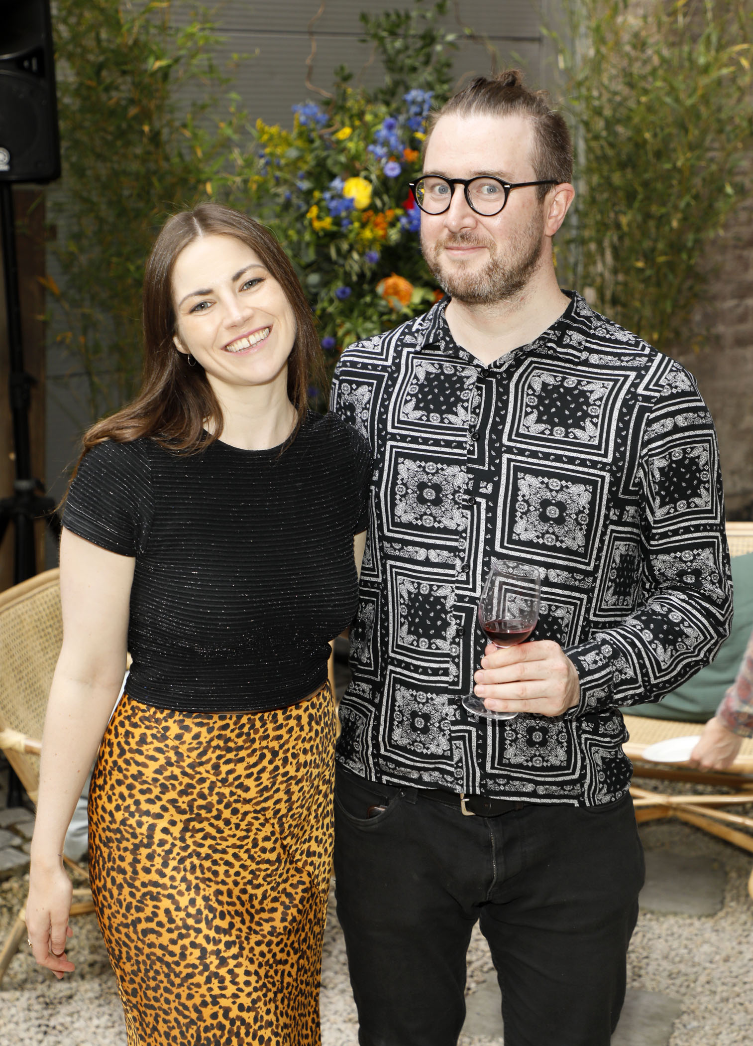 Paula Lyne and Joey Kavanagh at the Centra 'Wines We Love' event in Dublin. Photo: Kieran Harnett