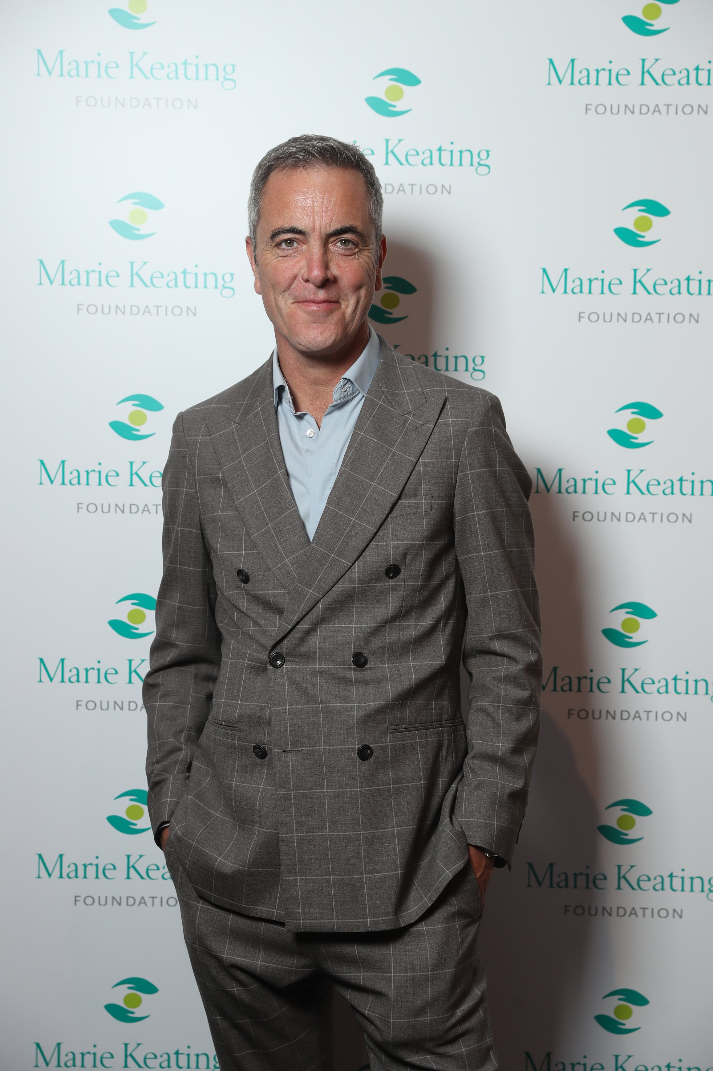 James Nesbitt at the Marie Keating Foundation Celebrity Golf Classic. Picture: Jason Clarke