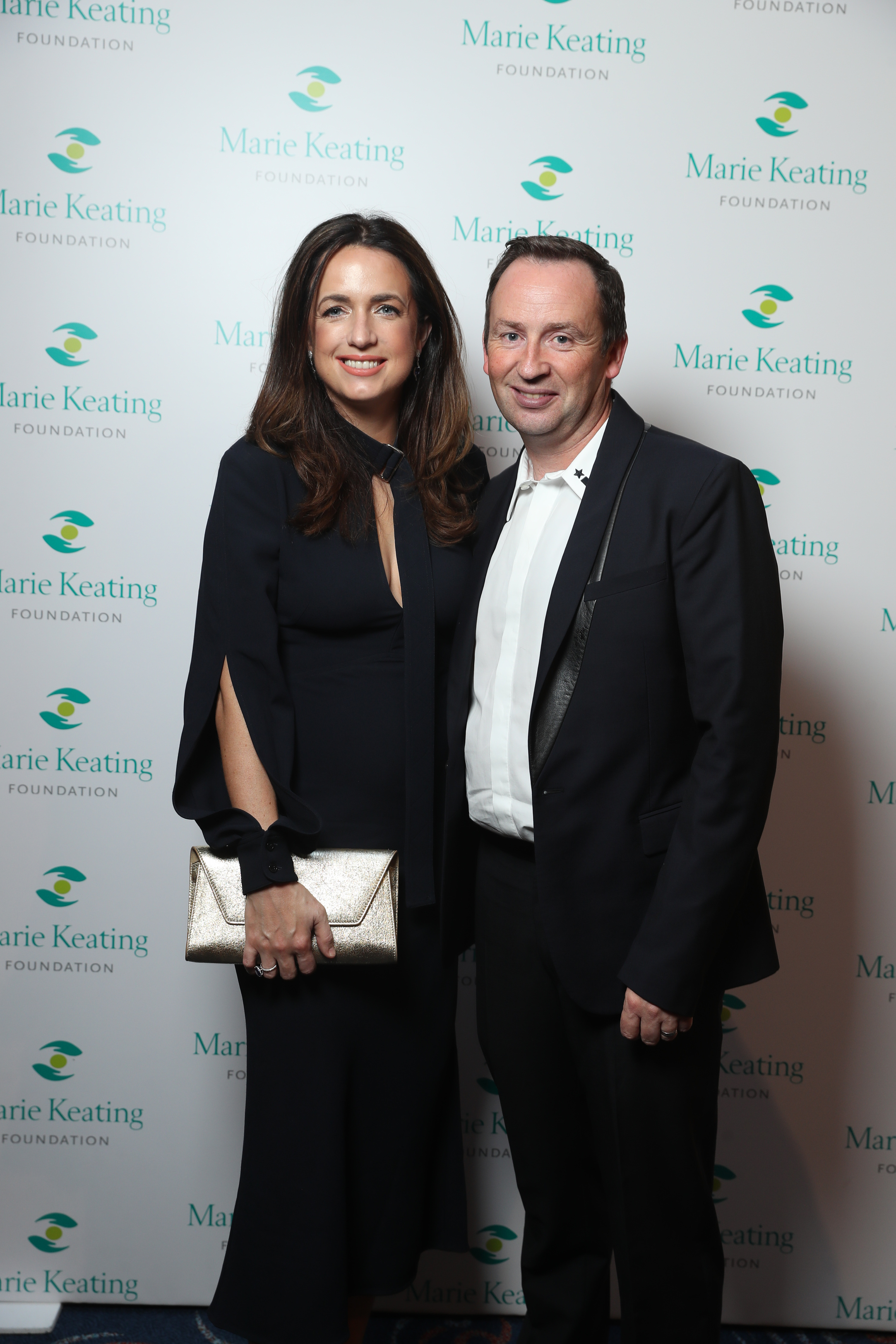 Ramona Nicholas and Canice Nicholas at the Marie Keating Foundation Celebrity Golf Classic. Picture: Jason Clarke
