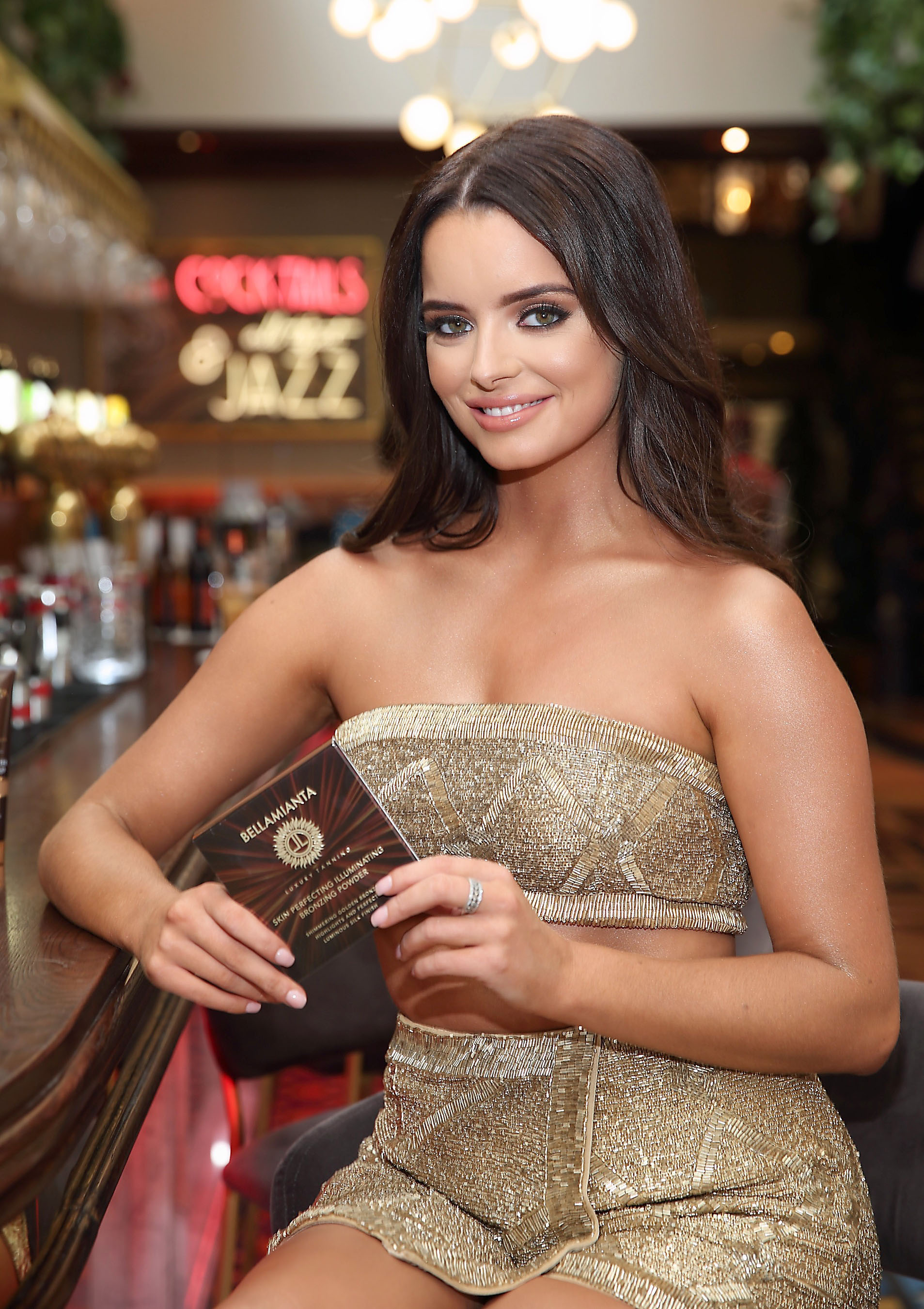 Maura Higgins pictured at the  Bellamianta Luxury Tan  Launch Party at Cafe En Seine,Dublin   Pictures: Brian McEvoy Photography