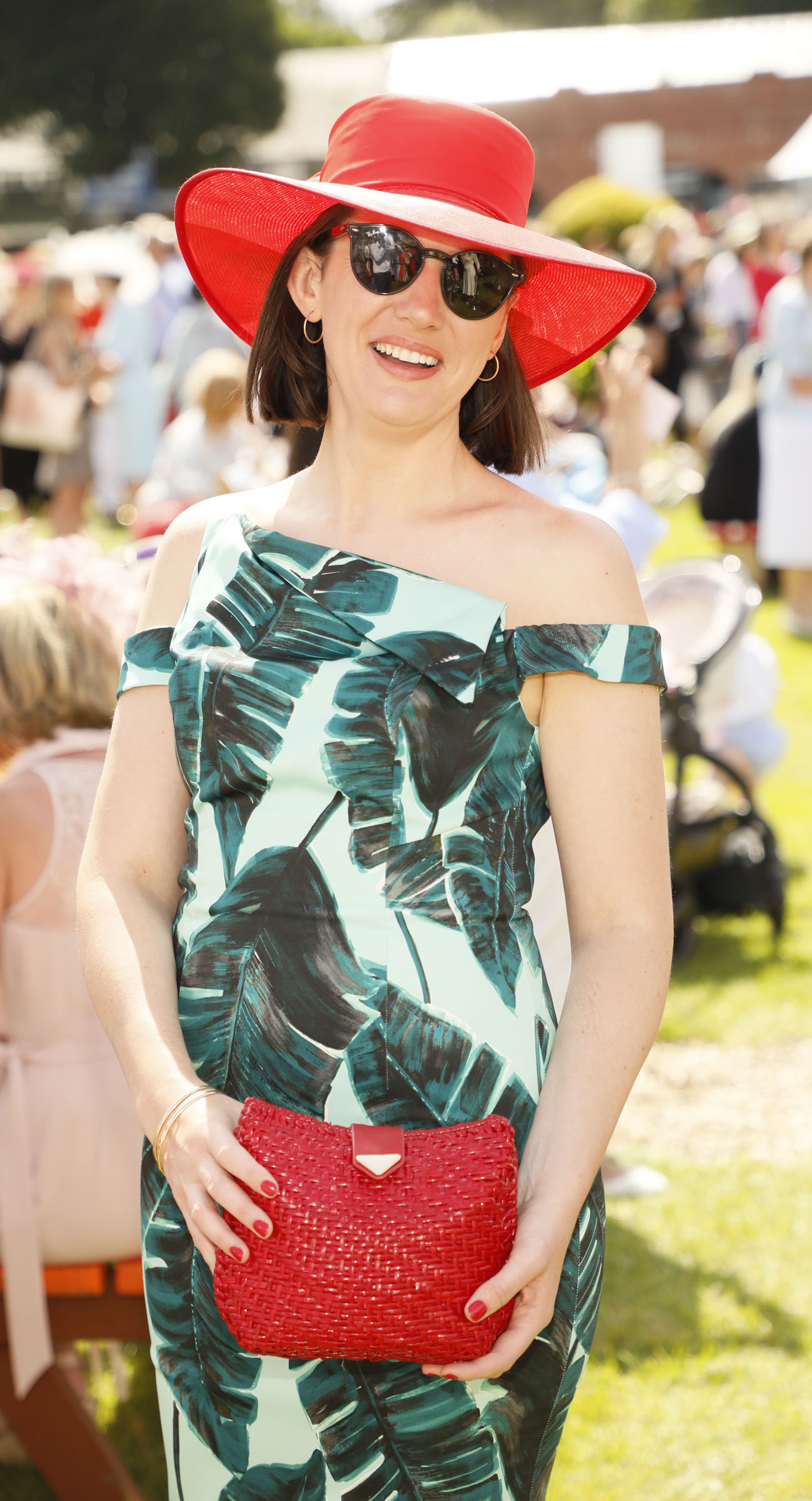 Bríd O'Shea at the Dundrum Town Centre Ladies' Day at the Dublin Horse Show in the RDS. Photo: Kieran Harnett