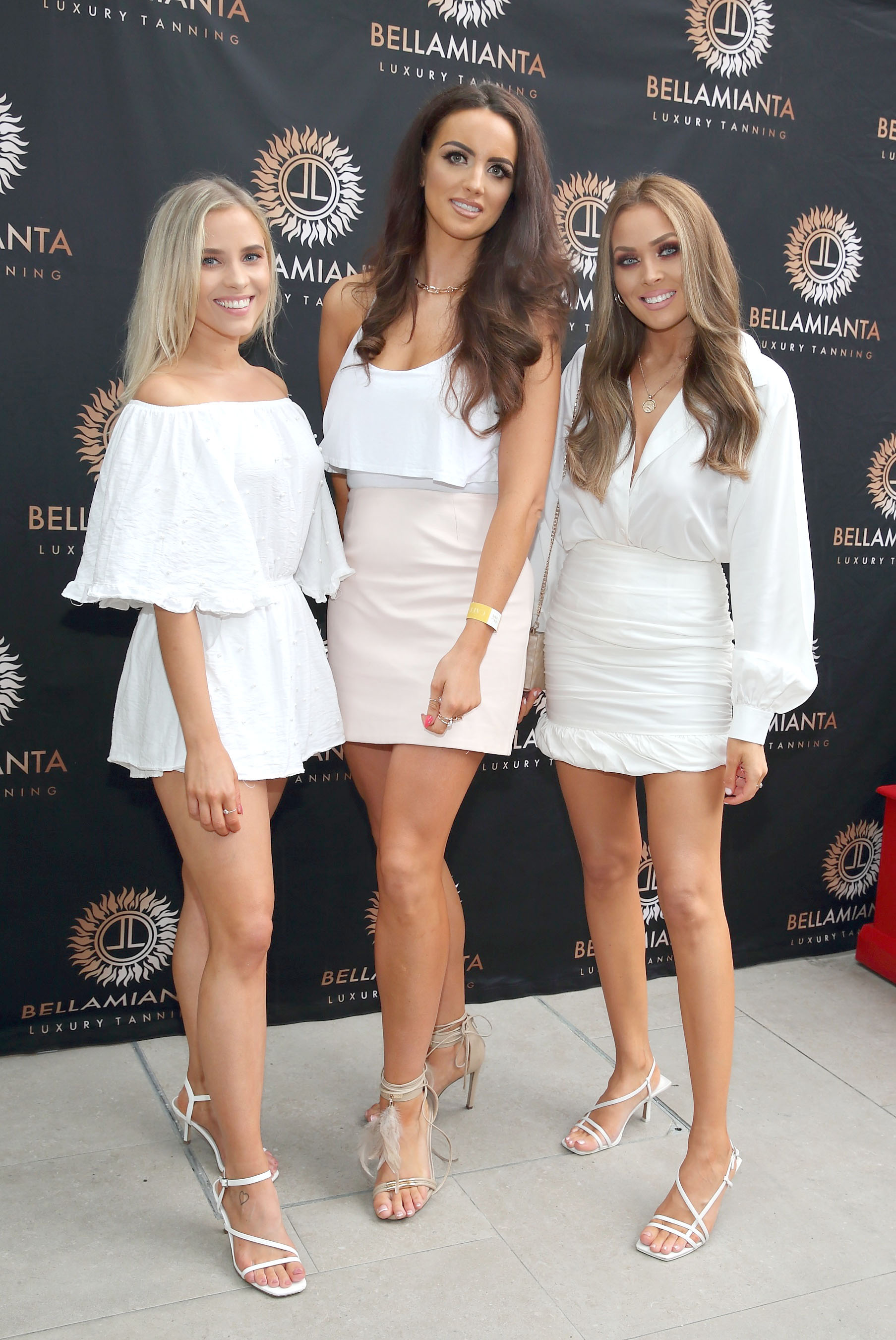Maja Moranska, Sammy Stacey and Niamh Gough  pictured at the  Bellamianta Luxury Tan  Launch Party at Cafe En Seine,Dublin