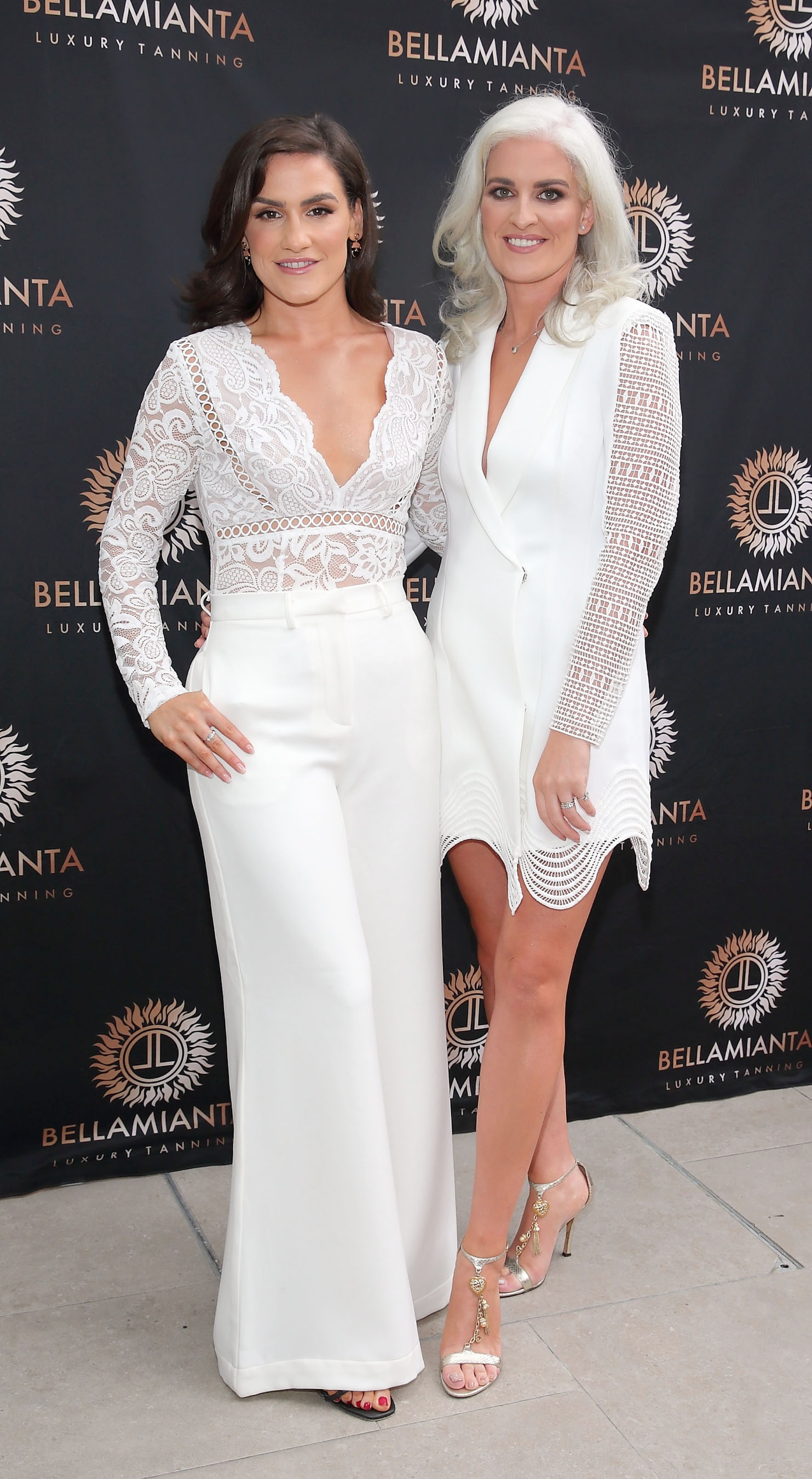 Katie O'Connor and Jane O'Connor  pictured at the  Bellamianta Luxury Tan  Launch Party at Cafe En Seine,Dublin  Picture: Brian McEvoy Photography
