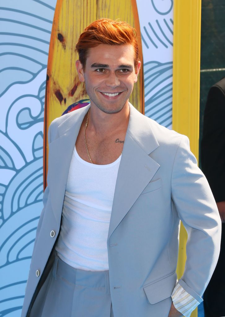 New Zealand actor KJ Apa attends the 2019 Teen Choice Awards. Photo: JEAN-BAPTISTE LACROIX/AFP/Getty Images)