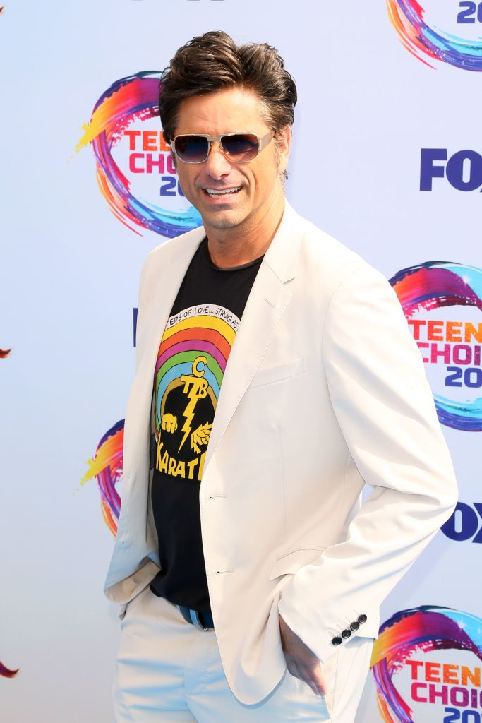 US actor John Stamos attends the 2019 Teen Choice Awards. (Photo: JEAN-BAPTISTE LACROIX/AFP/Getty Images)