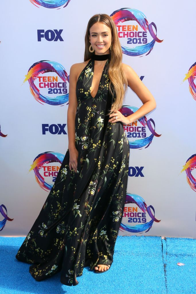 US actress Jessica Alba attends the 2019 Teen Choice Awards. Photo: JEAN-BAPTISTE LACROIX/AFP/Getty Images)