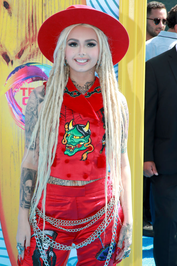 Zhavia Ward attends FOX's Teen Choice Awards 2019. (Photo by Rich Fury/Getty Images)