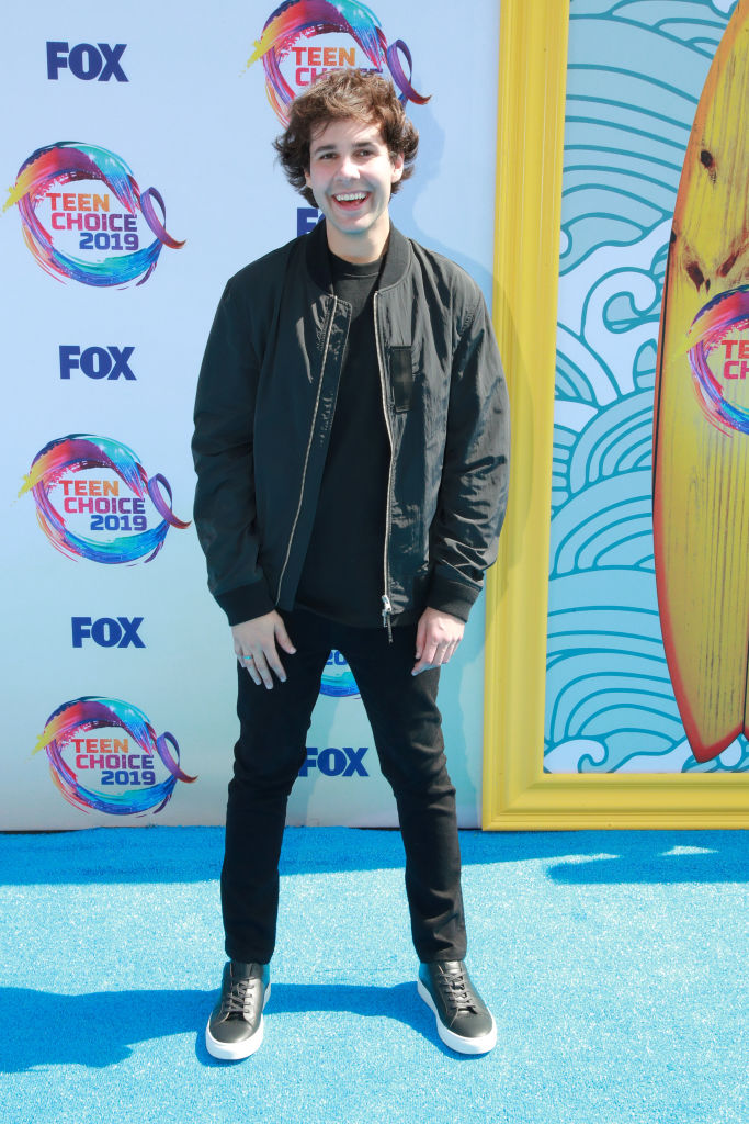 David Dobrik attends FOX's Teen Choice Awards 2019. (Photo by Rich Fury/Getty Images)