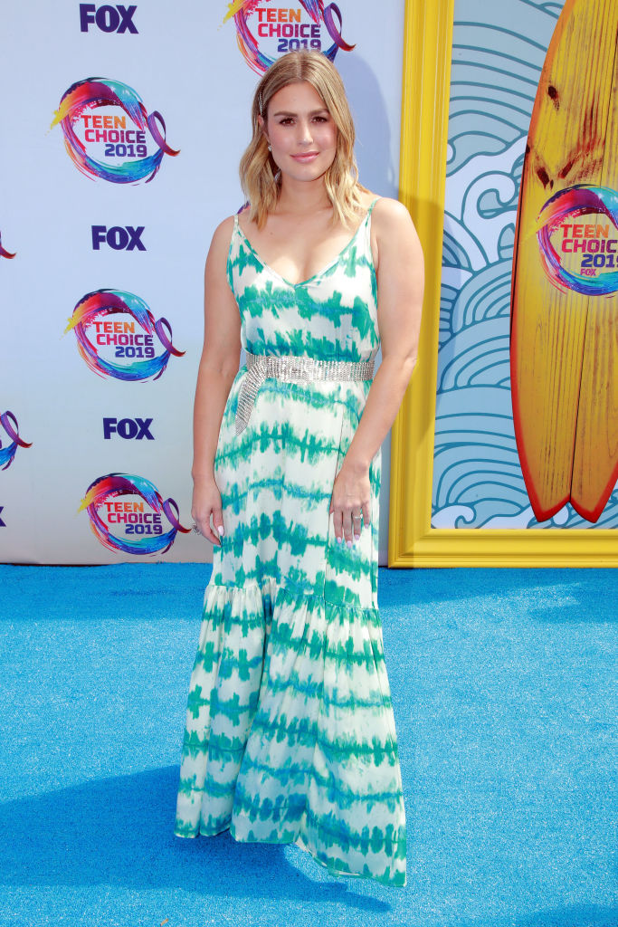 Carissa Culiner attends FOX's Teen Choice Awards 2019. (Photo by Rich Fury/Getty Images)