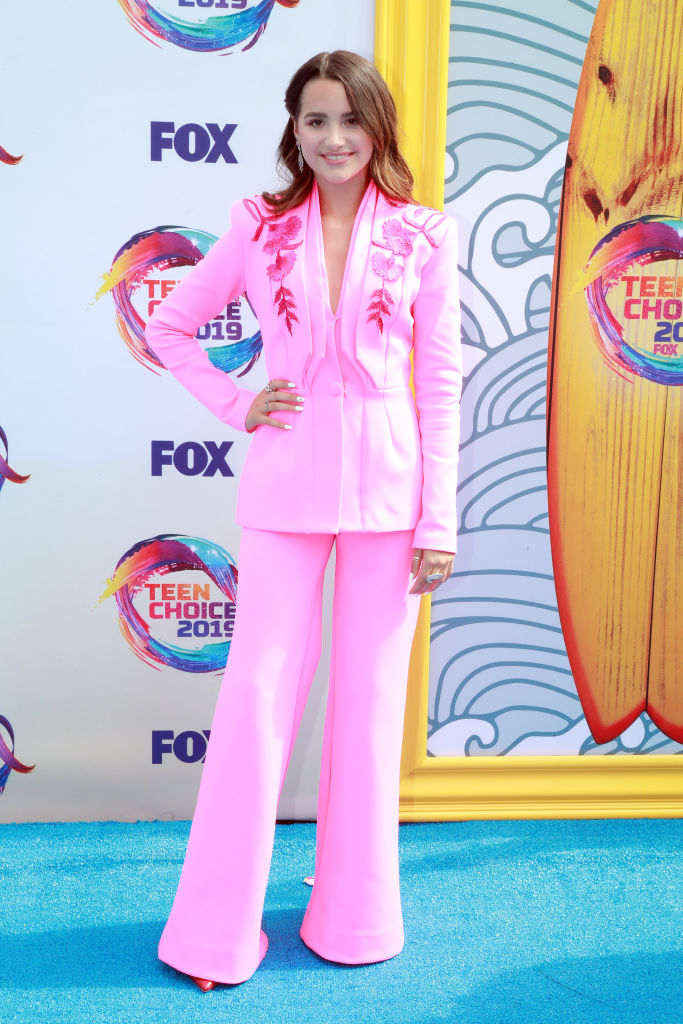 Annie LeBlanc attends FOX's Teen Choice Awards 2019. (Photo by Rich Fury/Getty Images)