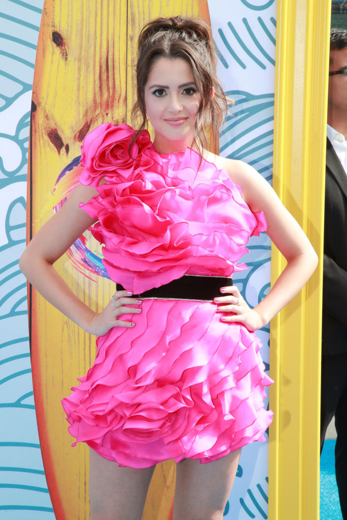Laura Marano attends FOX's Teen Choice Awards 2019. (Photo by Rich Fury/Getty Images)
