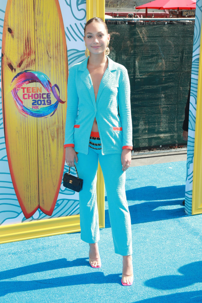 Maddie Ziegler attends FOX's Teen Choice Awards 2019. (Photo by Rich Fury/Getty Images)