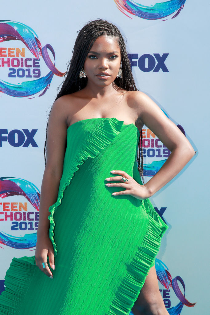 Ryan Destiny attends FOX's Teen Choice Awards 2019(Photo by Rich Fury/Getty Images)