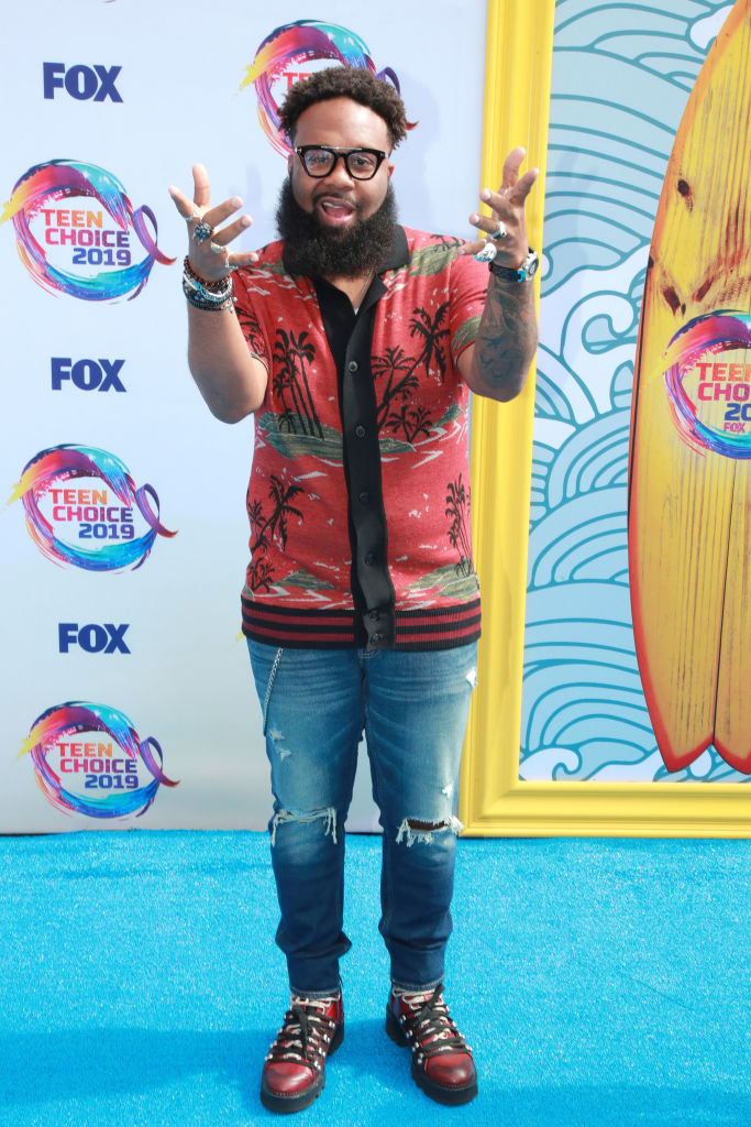 Blanco Brown attends the 2019 Teen Choice Awards. Photo by Rich Fury/Getty Images