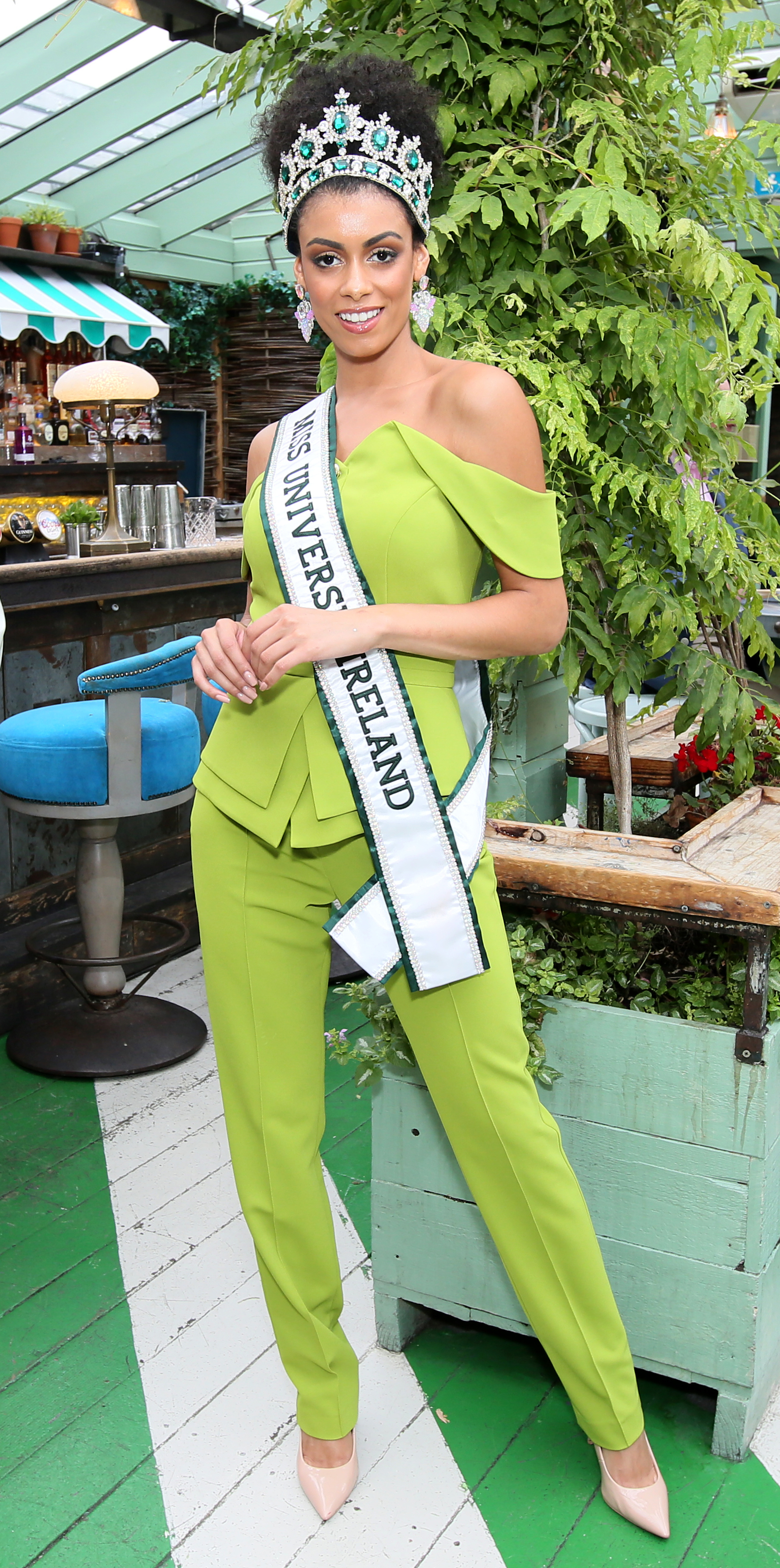 Pictured last night at the Great Lengths – The Mane Event at HOUSE Dublin, Leeson Street after the Dublin Horse Show was Miss Universe Ireland  Fionnghuala O'Reilly. PHOTO: Mark Stedman