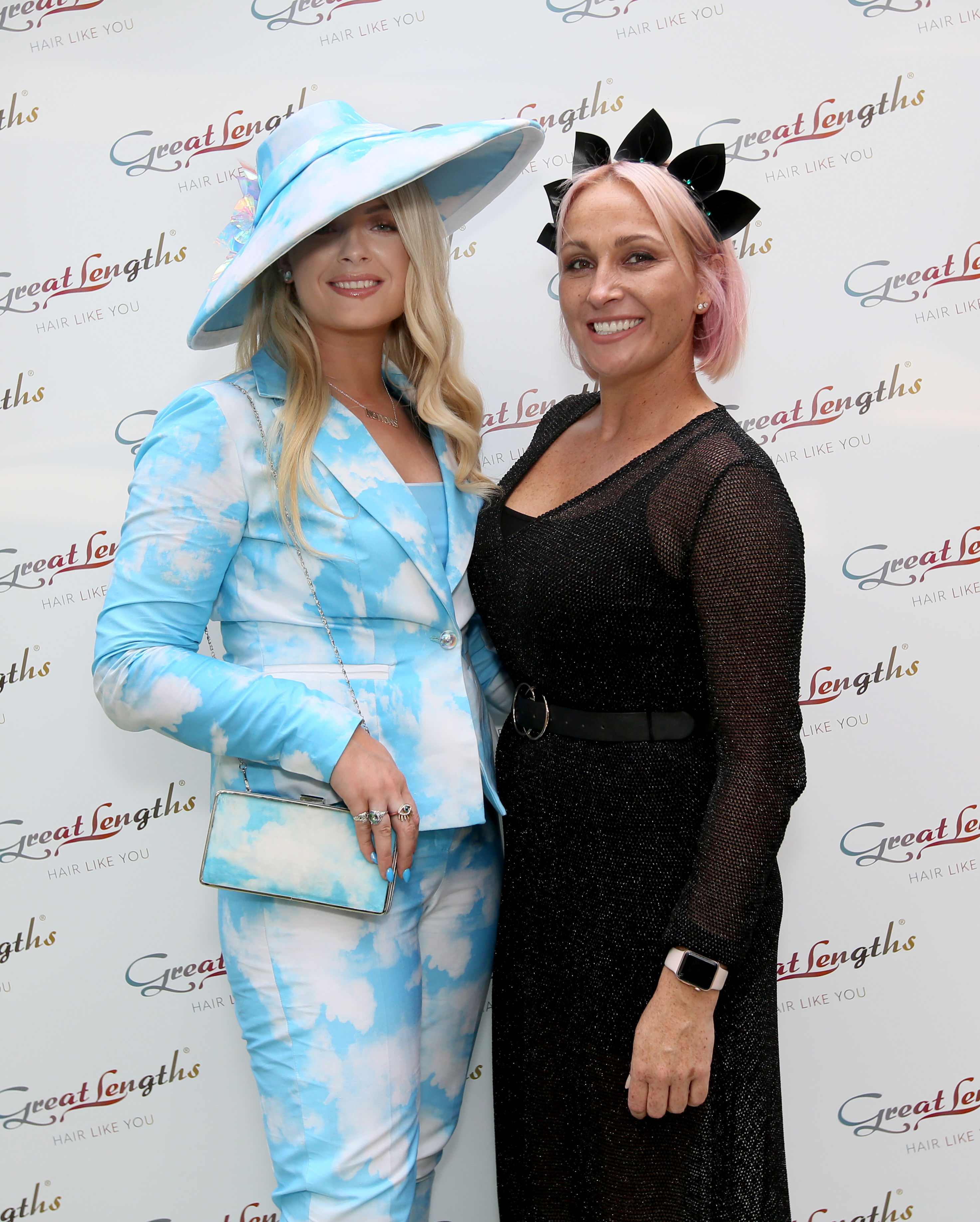 Pictured last night at the Great Lengths – The Mane Event at HOUSE Dublin, Leeson Street after the Dublin Horse Show are, from left, Margaret O'Connor and Suzie Dowling. PHOTO: Mark Stedman