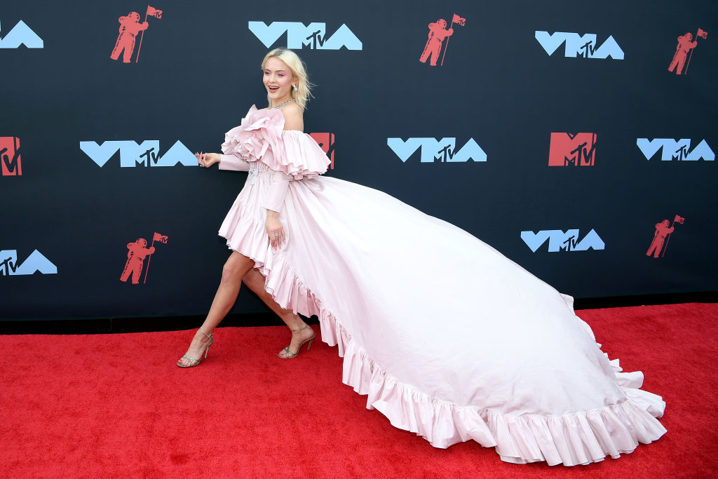 Zara Larsson attends the 2019 MTV Video Music Awards at Prudential Center on August 26, 2019 in Newark, New Jersey. (Photo by Dimitrios Kambouris/Getty Images)