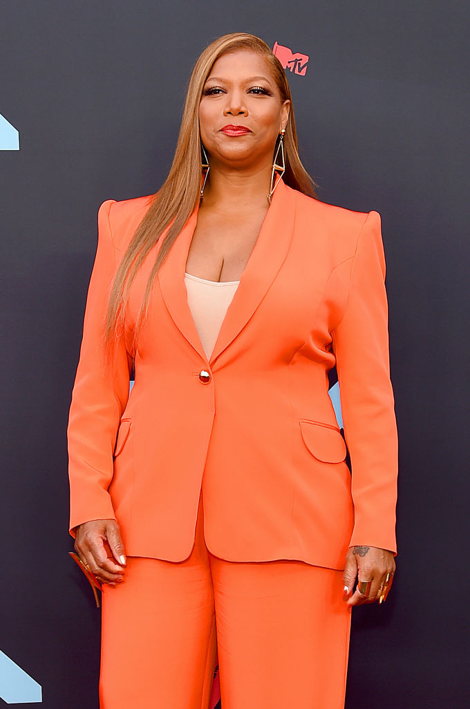 Queen Latifah attends the 2019 MTV Video Music Awards at Prudential Center on August 26, 2019 in Newark, New Jersey. (Photo by Jamie McCarthy/Getty Images for MTV)