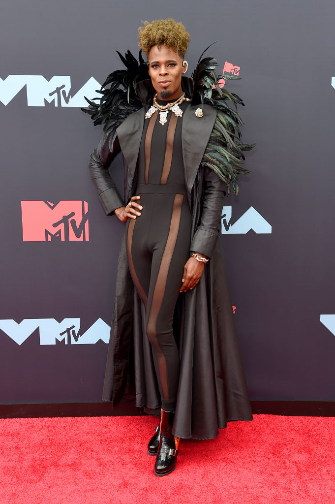 Prince Derek Doll attends the 2019 MTV Video Music Awards at Prudential Center on August 26, 2019 in Newark, New Jersey. (Photo by Jamie McCarthy/Getty Images for MTV)