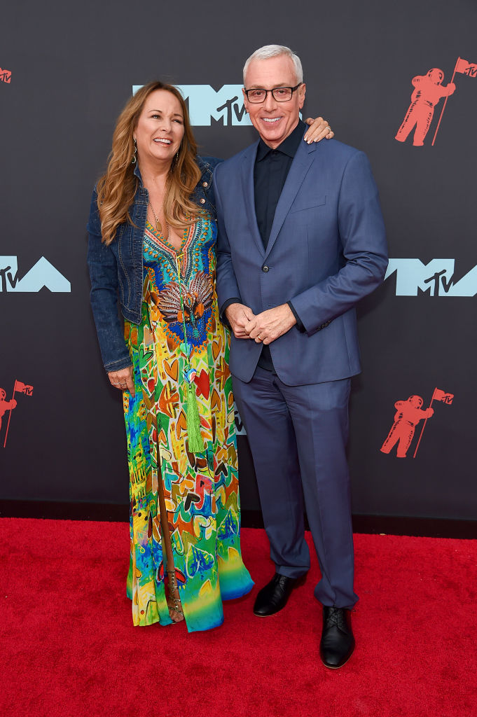 Dr. Drew and Susan Pinsky attend the 2019 MTV Video Music Awards at Prudential Center on August 26, 2019 in Newark, New Jersey. (Photo by Jamie McCarthy/Getty Images for MTV)