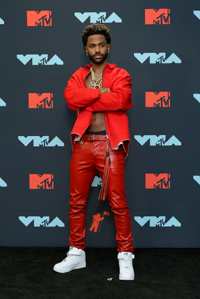 Big Sean poses in the Press Room during the 2019 MTV Video Music Awards at Prudential Center on August 26, 2019 in Newark, New Jersey. (Photo by Roy Rochlin/Getty Images for MTV)