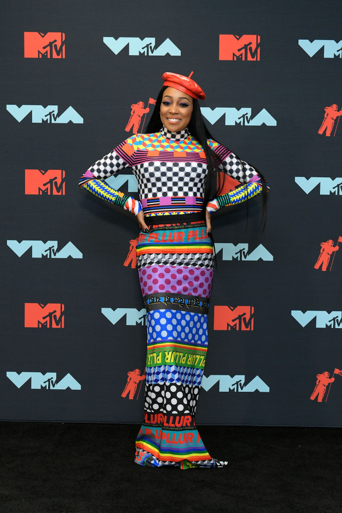 Monica poses in the Press Room during the 2019 MTV Video Music Awards at Prudential Center on August 26, 2019 in Newark, New Jersey. (Photo by Roy Rochlin/Getty Images for MTV)