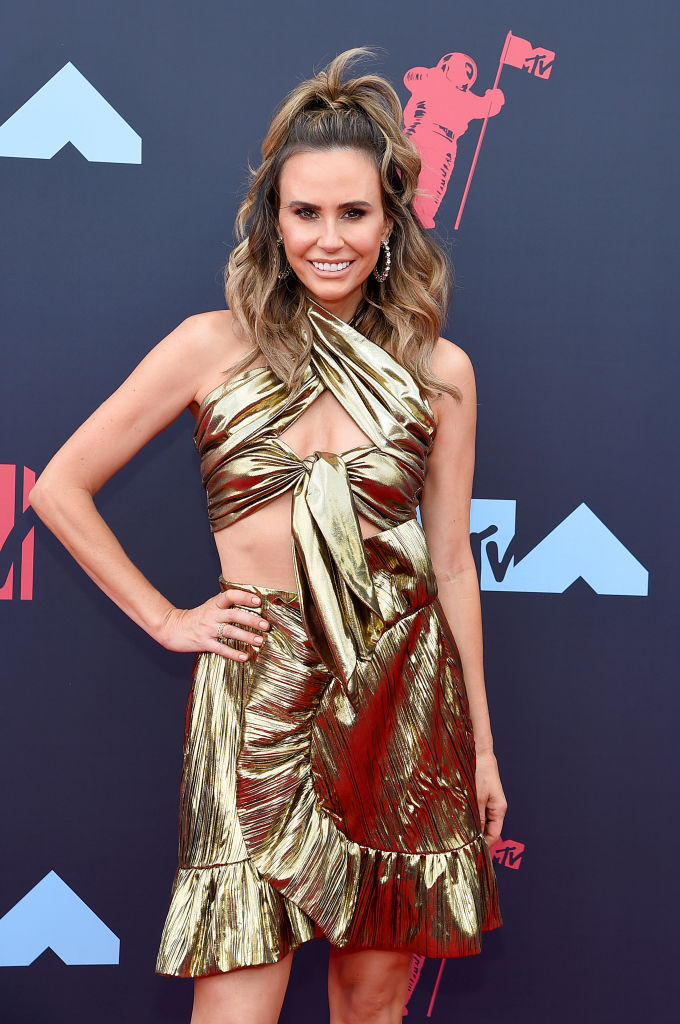 Keltie Knight attends the 2019 MTV Video Music Awards at Prudential Center on August 26, 2019 in Newark, New Jersey. (Photo by Jamie McCarthy/Getty Images for MTV)