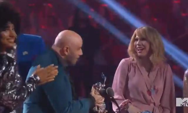 John Travolta Taylor Swift VMAs 2019