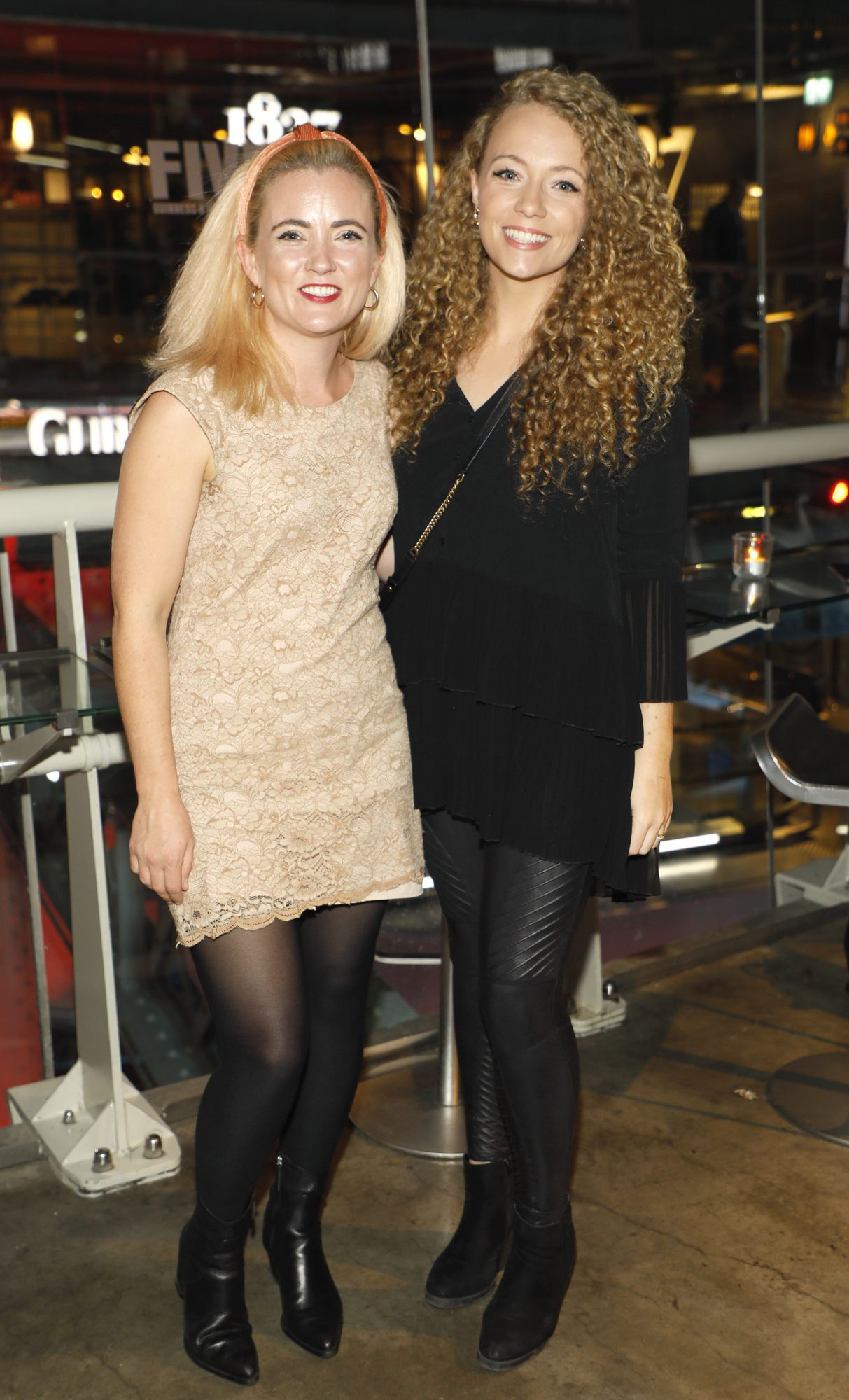 Mollie O'Dwyer and Shannon Fetherston at Guinness Storehouse Seafest supper club. Photo: Kieran Harnett.