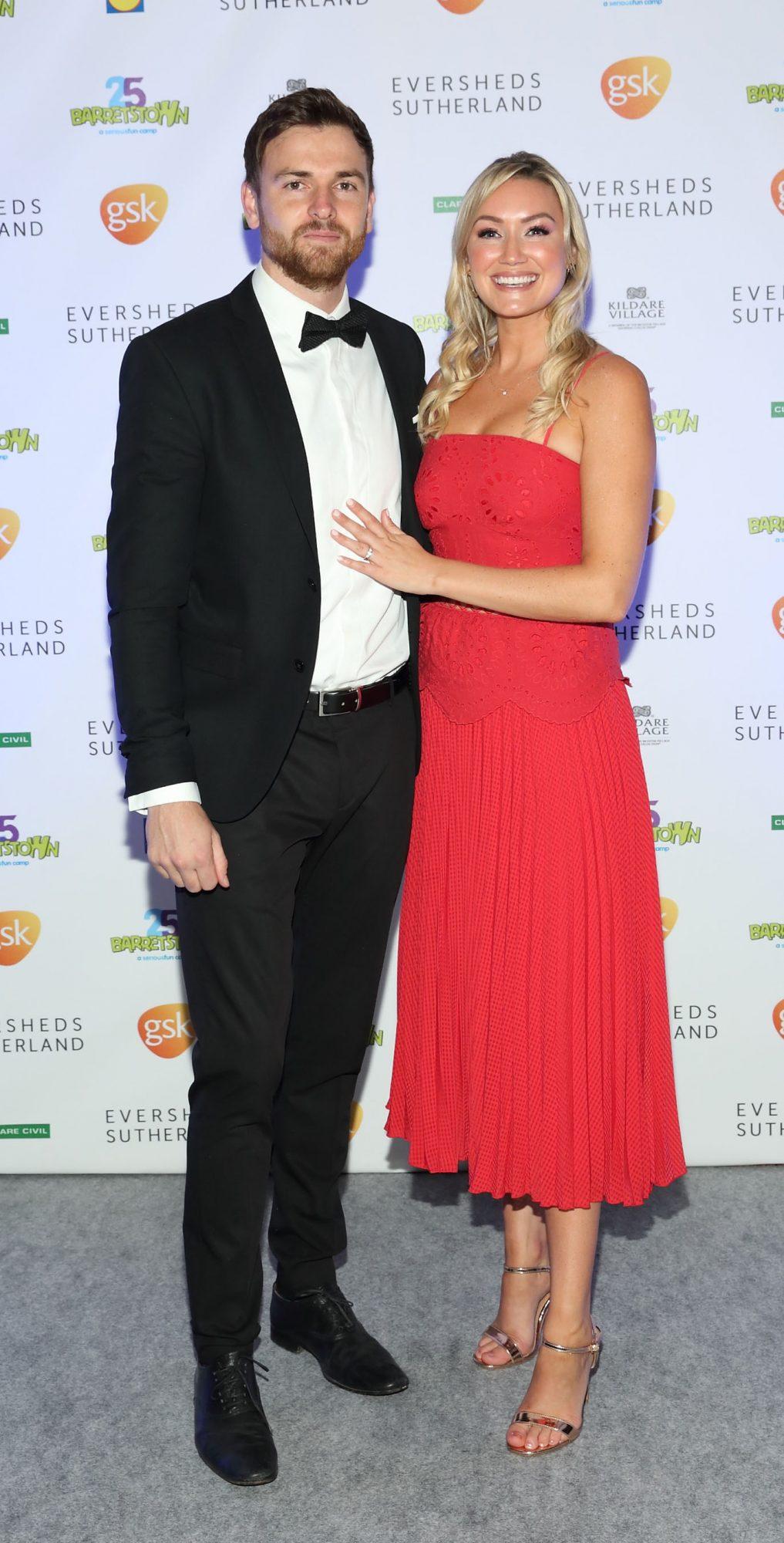 Rory Pratt and Claire Pratt at the Barretstown 25th Anniversary Gala Ball at the RDS, Basllsbridge, Dublin.  Pic: Brian McEvoy Photography
